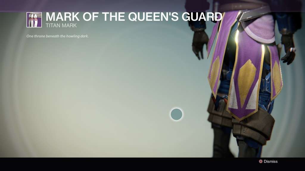 Destiny mark of the queens guard titan armor 1 1024x576