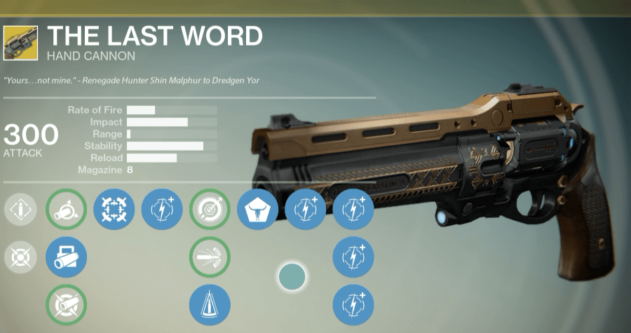The Last Word Exotic Review