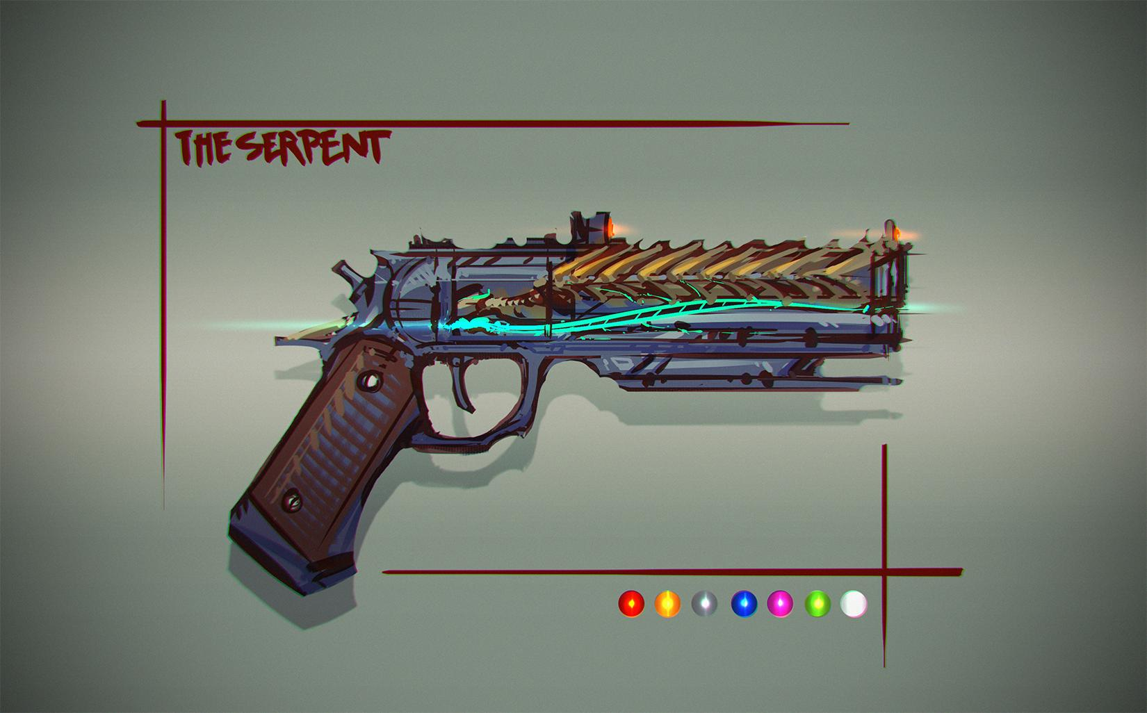 It s called the serpent and he based it off this design by bing0ne