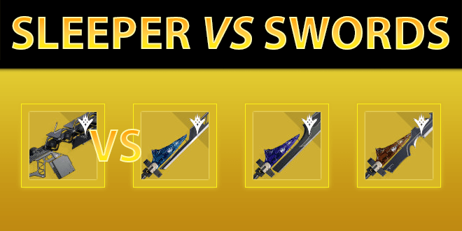 Sleeper Simulant vs Exotic Swords