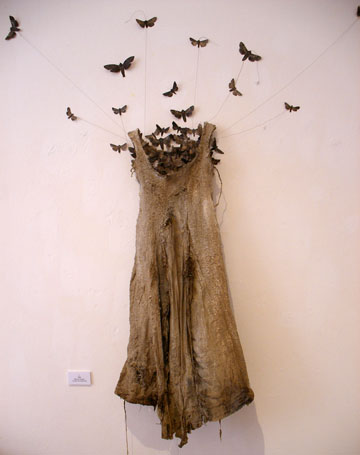 Moth Dress by Louise Richardson