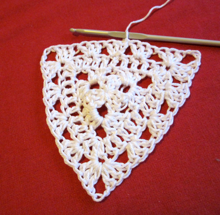 Step 11 Christmas Crochet Bunting