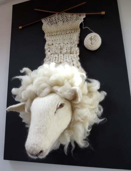 Needlefelt Sheep for NNOS 2013