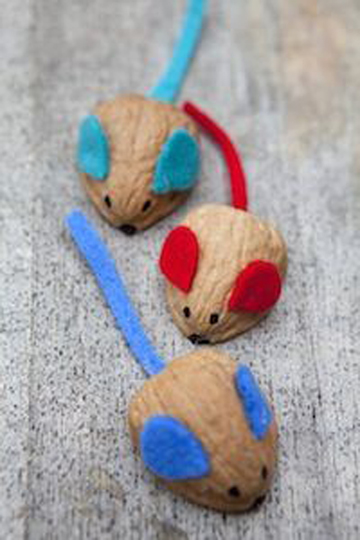 Walnut Racing Mice Christmas Countdown Day 17