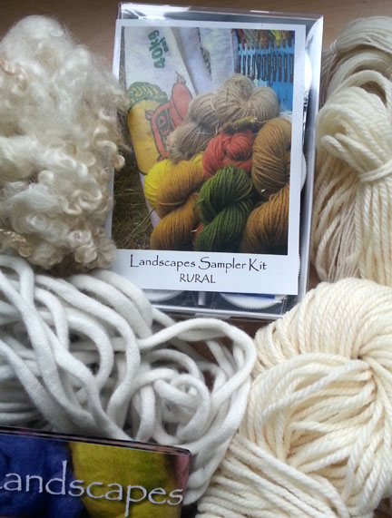 Landscape Dyes Wingham Wool Works