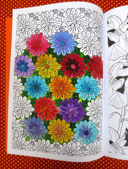 Mandala Flowers Art Therapy