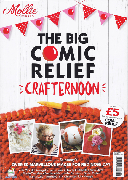 The Big Comic Relief Crafternoon magazine