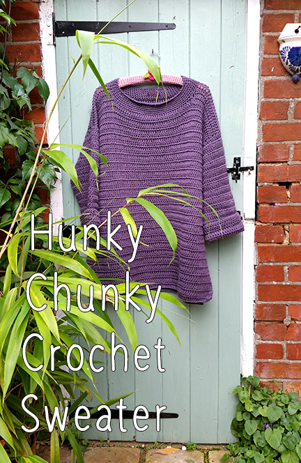 Crochet sweater - Planet Penny