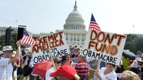 Protest - Affordable-Care-Act
