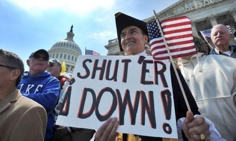 Shutdown - Tea Party