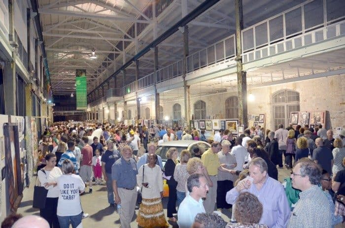 Art All Night kicks off at 3 p.m. at the Roebling Wire Works building in Trenton.