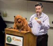 Michael Graziano at Science on Saturdays 2015. Photo courtesy of the Princeton Plasma Physics Lab.
