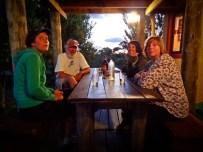 Carola, El Captain, Jess and Mags
