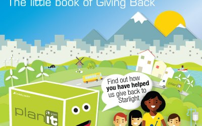 Planitgreen's little book of Giving Back