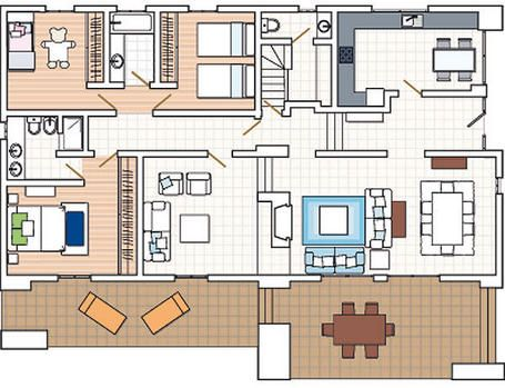 20 planos de casas chicas planos y fachadas todo para for Planos de interiores de casas