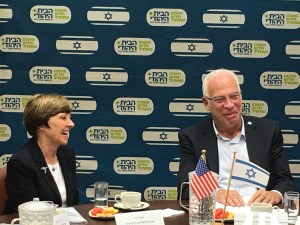 Secretary Ross with Israel's Minister of Agriculture and Rural development, Uri Ariel