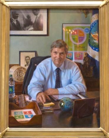 Portrait of USDA Secretary Tom Vilsack