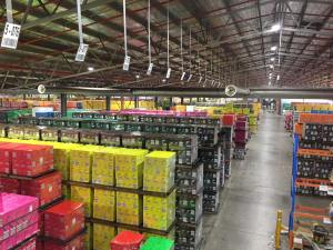 This warehouse contains 15, million cases of Yellow Tail wines, about a months supply for customers around the world.