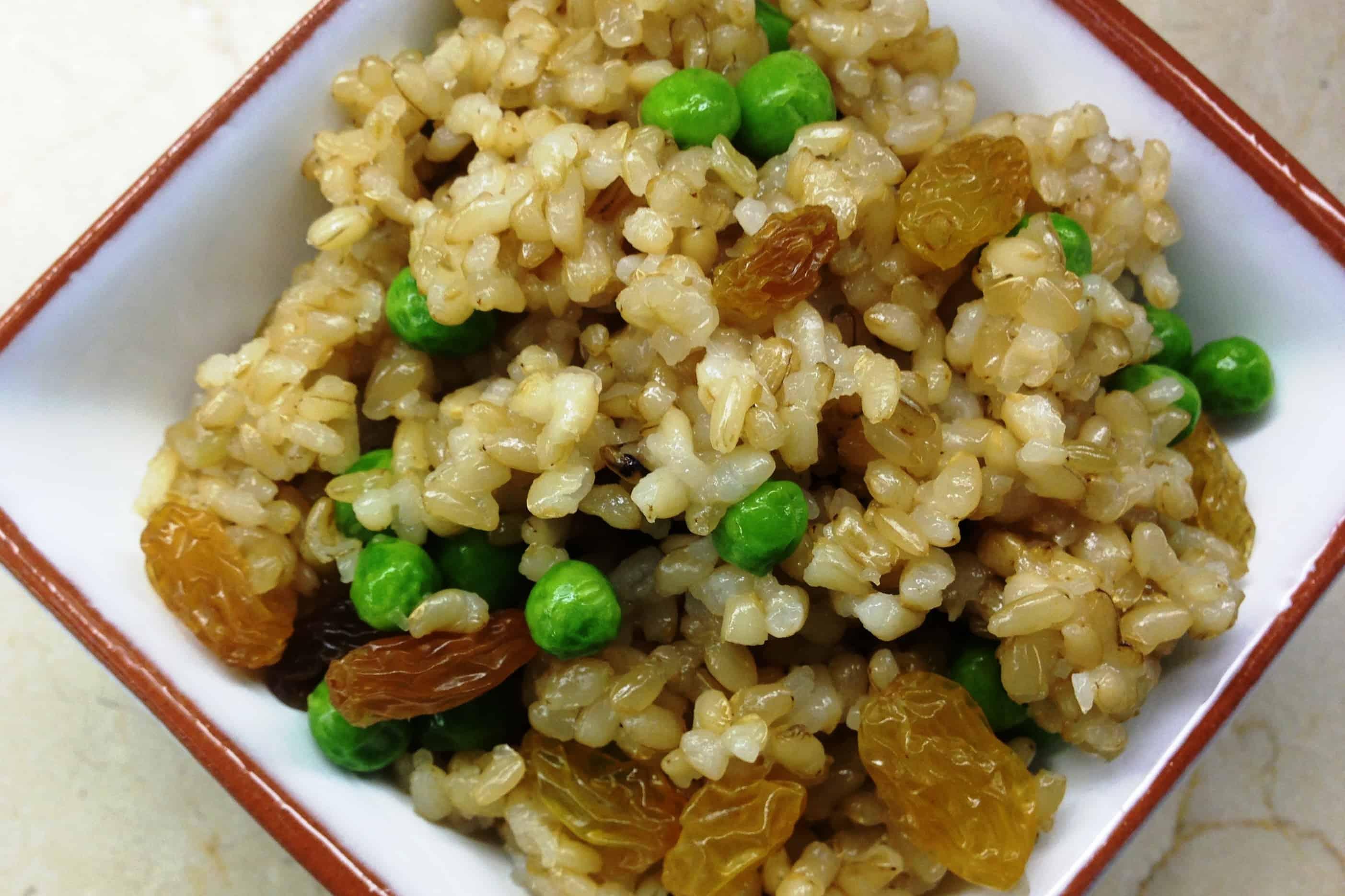 how to cook raisin rice