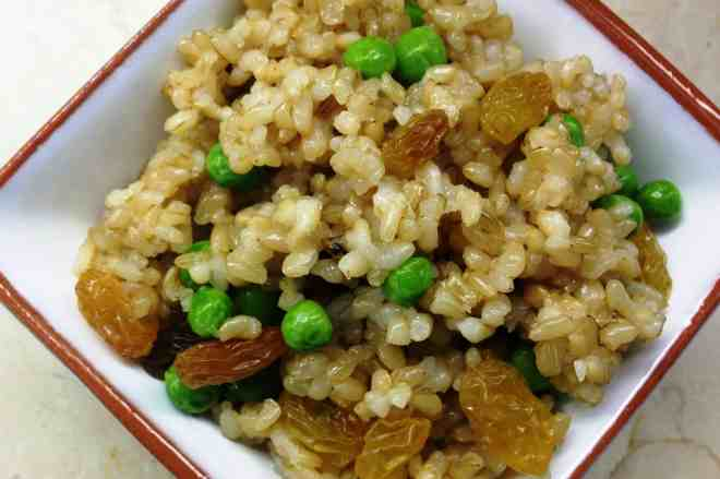 Raisin Rice Pilaf