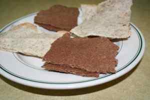 Gluten-free vegan matzo