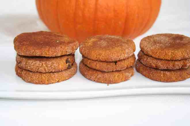Pumpkin Chocolate Chip Snickerdoodles, Plantivores
