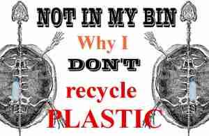 not in my bin