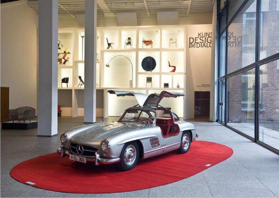 """Mercedes 300 SL """"Gullwing"""" Coupé, Paul Bracq, Karl Wilfert, 1954/55 © MAKK/ Foto: RBA Köln, Marion Mennicken"""