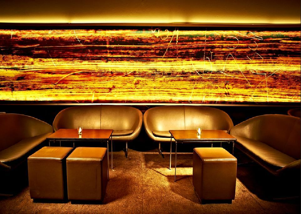 Goldene Bar im Haus der Kunst, 2012 Foto: Alescha Birkenholz