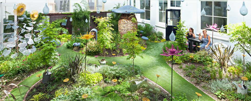Credits: The Fairy Tale Garden at Hôtel Droog Photographer: Thijs Wolzak www.droog.com