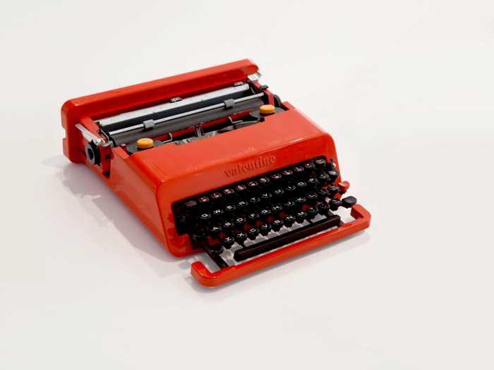 Design Museum, Valentine Typewriter, Piaggio, Platea Magazine