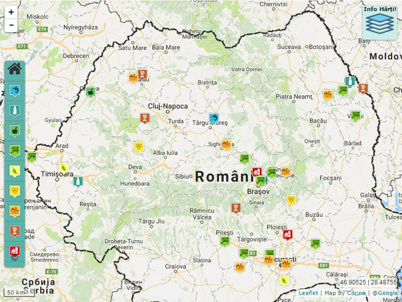 Noua Hartă a Fermelor din România, mulțumită vouă