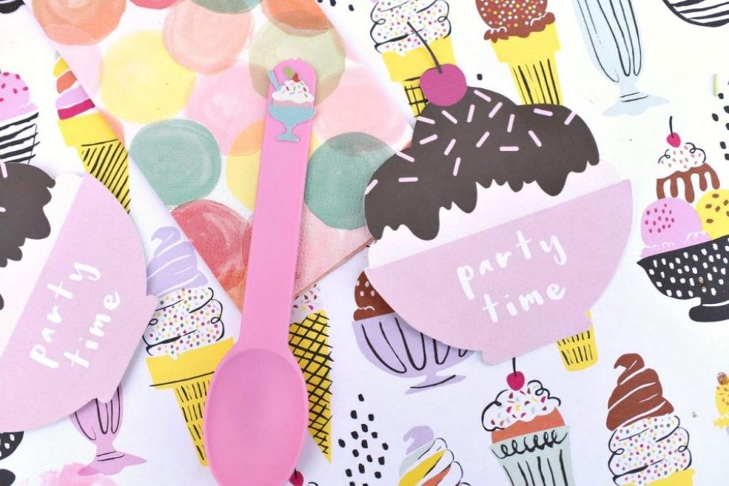 Ice Cream Party For Tweens + Cricut Explore Air Giveaway! - Make ...