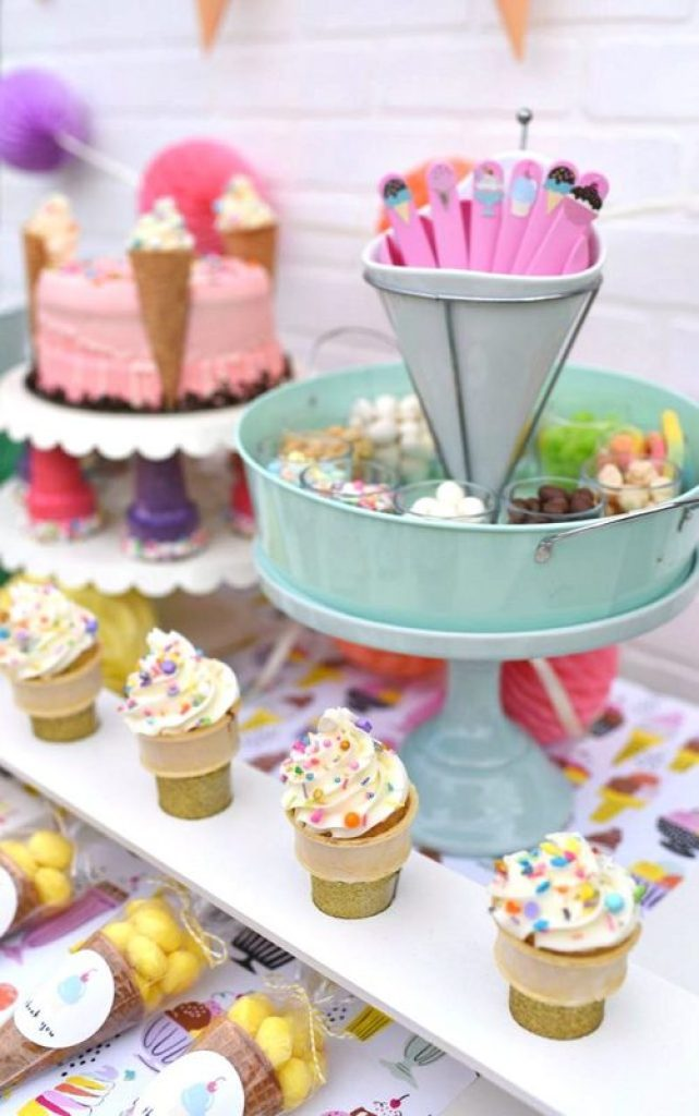 Fun ice cream party ideas for girls!