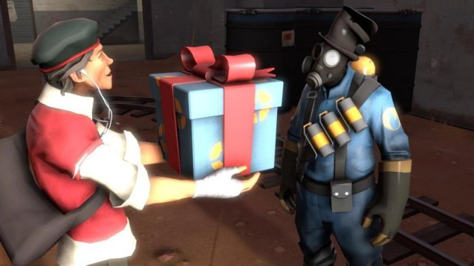 team fortress gift