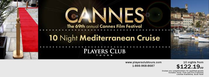 Be a Celebrity at Cannes Film Festival