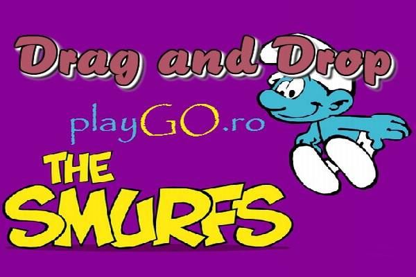The Smurfs Drag and Drop