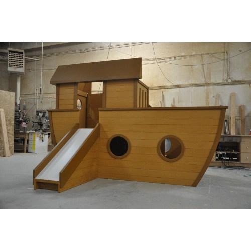 Medium Of Pirate Ship Playhouse