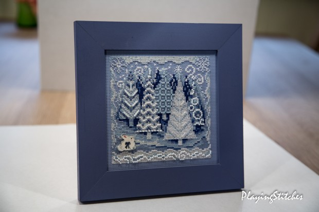 [:en]Mill Hill Winter Wonderland stitched on perforated paper beads hare