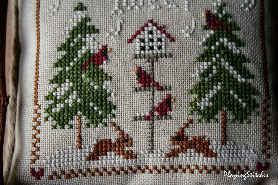 Cardinal Winter PlayingStitches-8