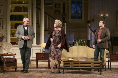 Peter Thomson (Bradley), Kandis Chappell (Ann) and Rod Brogan (John) in the Guthrie Theater's production of The Cocktail Hour