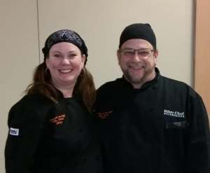 Mary Aalgaard and The Biker Chef