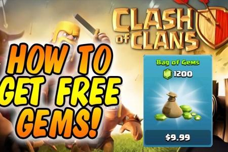 clash of clans free gem