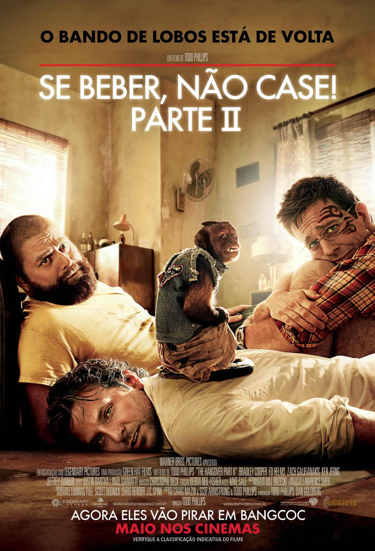 Poster do filme Se Beber, Não Case! - Parte II