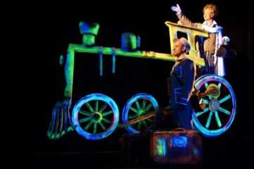 Colour Dreams of Dr. Frankenstein Black Light theatre