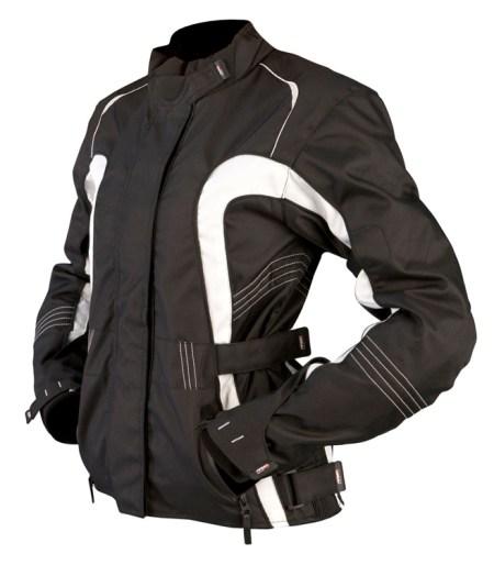 Armr Moto Atsu Ladies Motorcycle Jacket Black