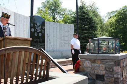 Commander Carl Rennia, First Vice-Commander Wayne Southworth Remembering those who have passed
