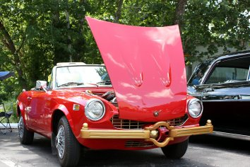 Murial Anderson's 1976 Fiat Spyder 124, Pleasant Valley