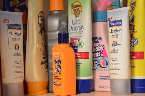 vitamin D sunscreen