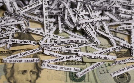 Falling home prices and economic disaster